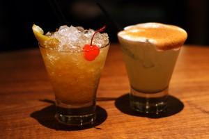 Cocktails tempus George Hotel Edinburgh Scotland