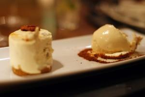 cheesecake ice cream tempus the george hotel edinburgh