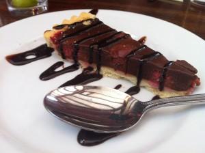 Laird and Dog Lasswade chocolate tart