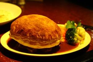 Anchorage Hotel Troon steak pie