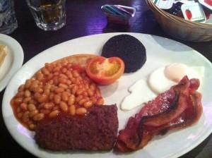 anchorage hotel full scottish breakfast